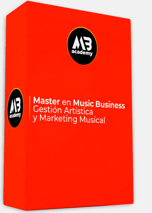 Paquete master en music business