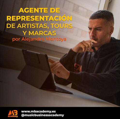 agente de representación de artistas, tours y marcas