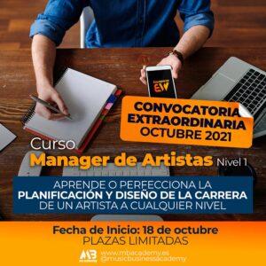 curso manager de artistas