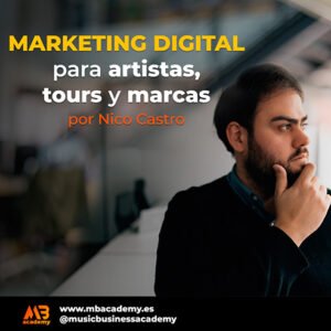 curso marketing digital para artistas y marcas