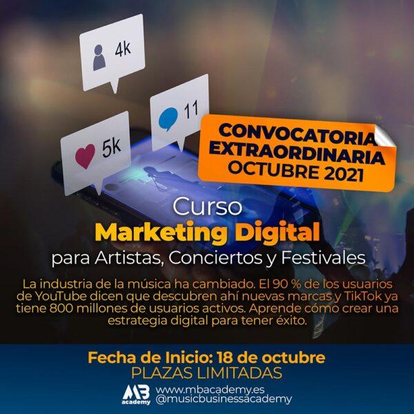 curso marketing digital para artistas