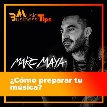 Marc Maya nos explica cómo prepara él su música para las sesiones