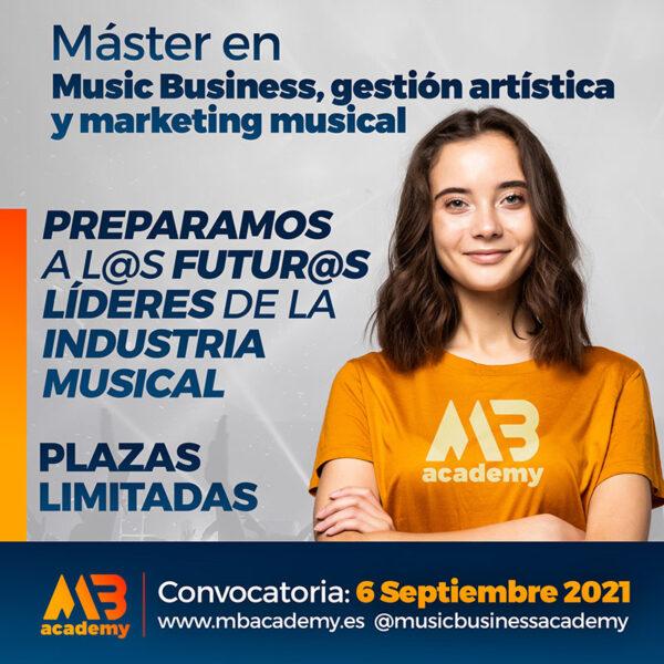 master online en music business